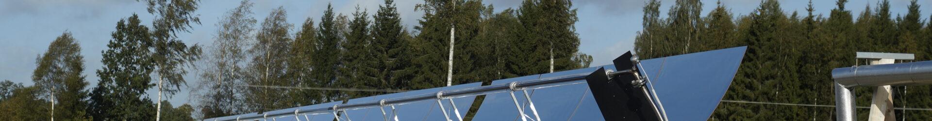 ETC solpark med växthus