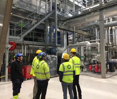 Eidsiva blir först i Norge med ORC-turbin på värmeverk