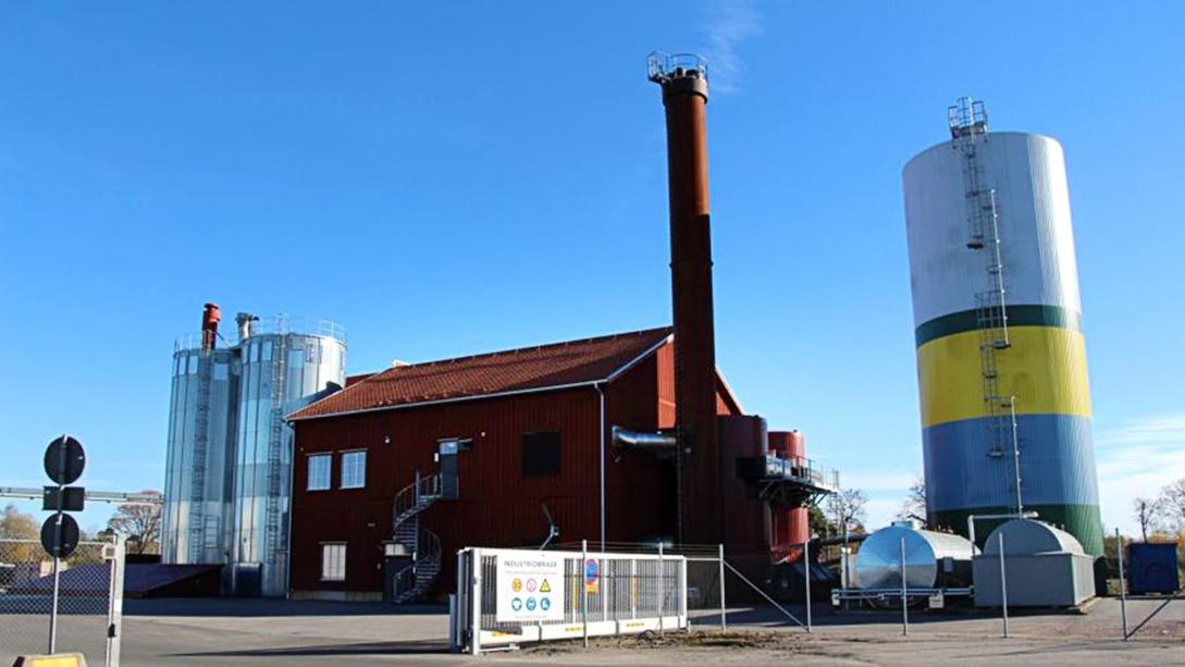 Mariestads-Tidningen skriver om nya ORC-turbinen